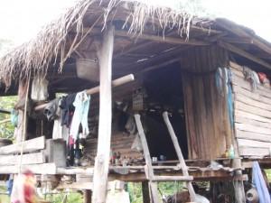 Simple Hut in Rural Thailand