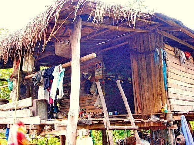 Rural hut in Thailand