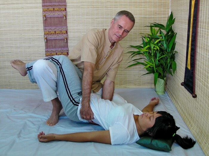 image of Thai Massage technique