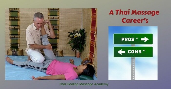 A Thai Massage career's pros and cons