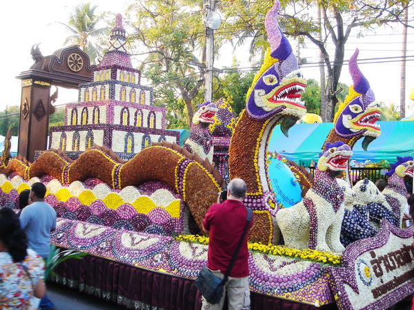 Chiang Mai, Thailand, Dragon Float