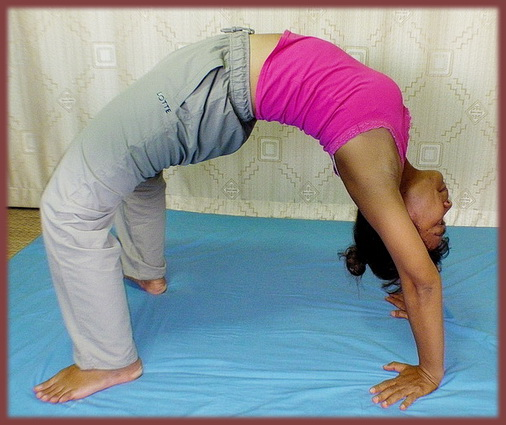 yoga bridge posture
