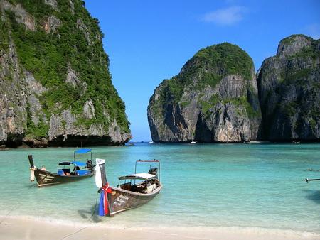 Thailand scenery on Ko Phi Phi island