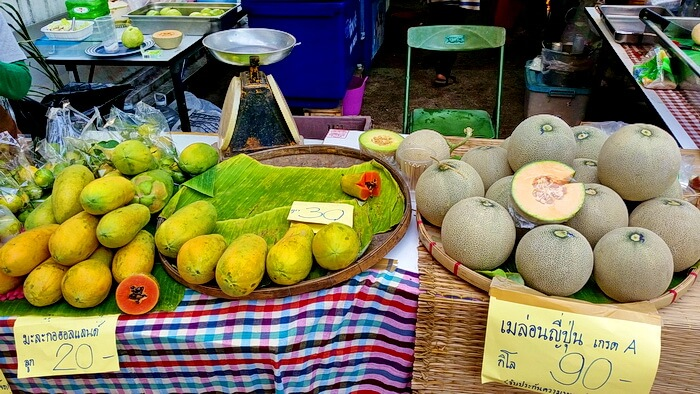 Fruits in Thai Market