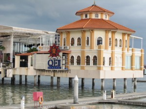 Penang building on the water