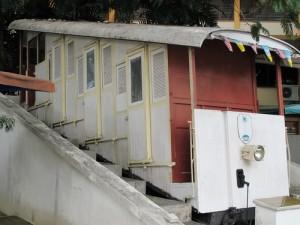 The original funicular of Penang, Malaysia