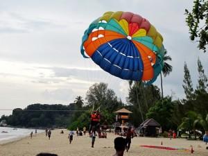 Penang, Malaysia parasailing