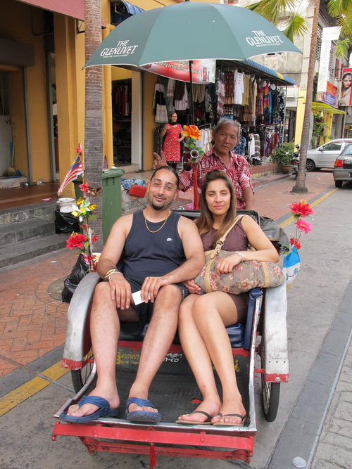 Penang pedicab
