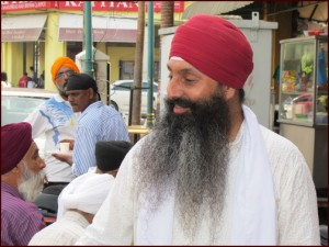 The Sikh shop owner