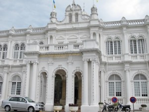 government building in Penang, Malaysia