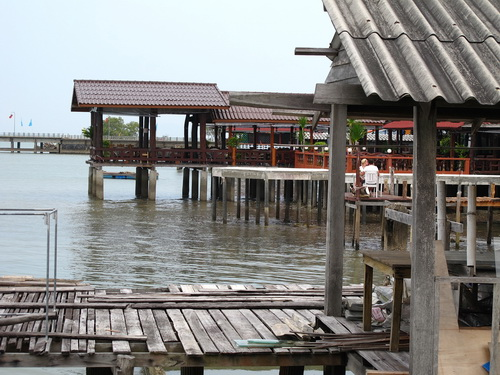 Lanta Old Town houses on stilts