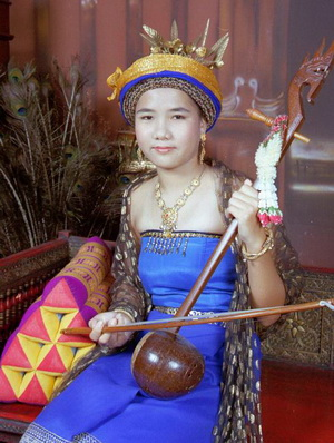 Thai women with whitened face