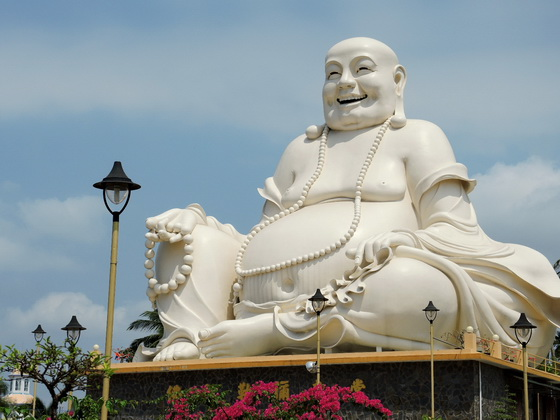 Happy Buddha in southern VIetnam