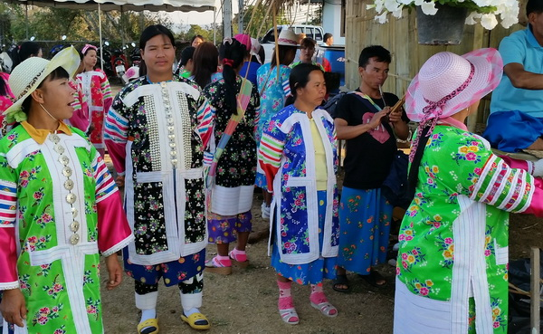 Lahu hill tribe people in Thailand