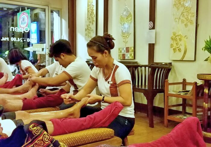 Thai foot massage shop