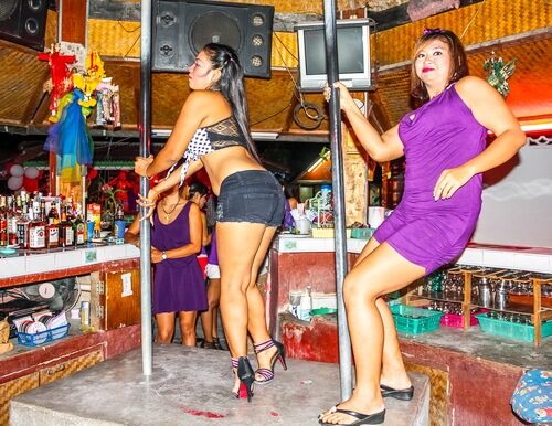 Thai bar scene