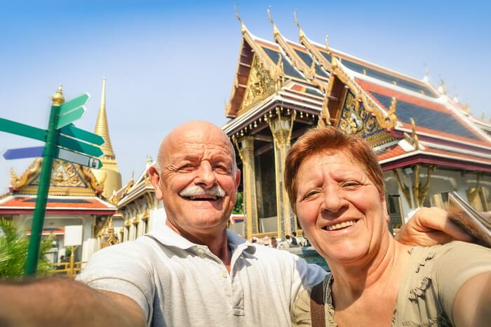 retirees in Thailand