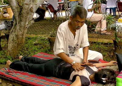Thai Massage session